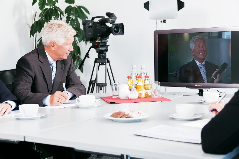 Mediencoaching Besprechung