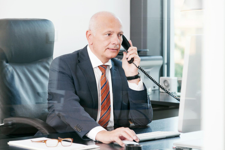 Businessportrait Geschäftsführer
