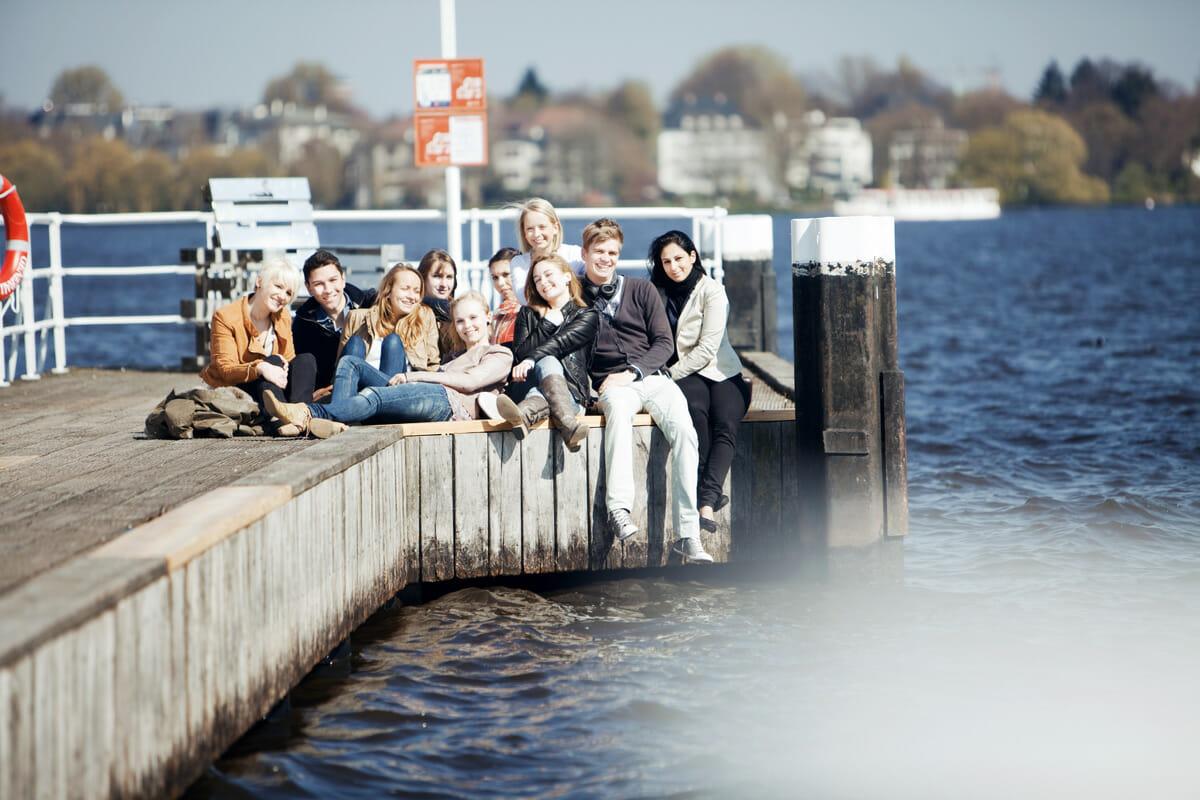 Werbeshooting Hochschule Fresenius Hamburg