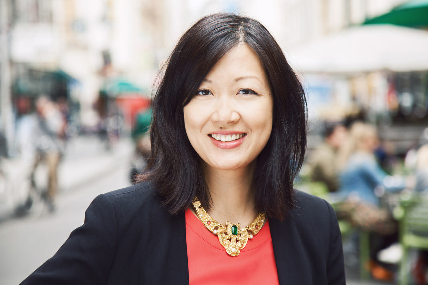 Businessportrait Christine Kim / Seapoint Productions