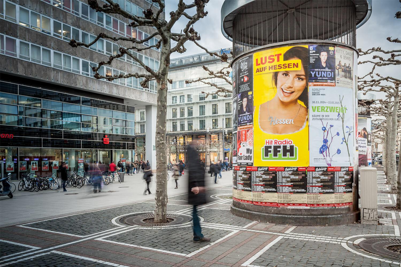 Keyvisual Hitradio FFH Werbekampagne